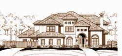 Mediterranean Style House Plans Plan: 19-975