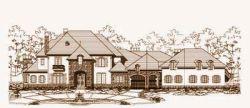 European Style House Plans Plan: 19-980