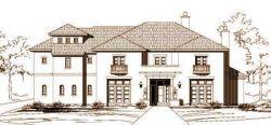 Mediterranean Style Home Design Plan: 19-988