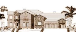 Tuscan Style House Plans Plan: 19-993