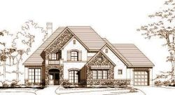 French-Country Style Floor Plans Plan: 19-995