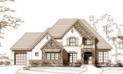 French-Country Style House Plans Plan: 19-997