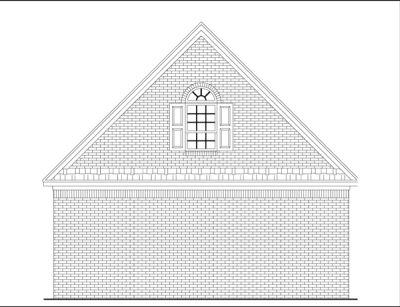 Rear Elevation Plan: 2-101