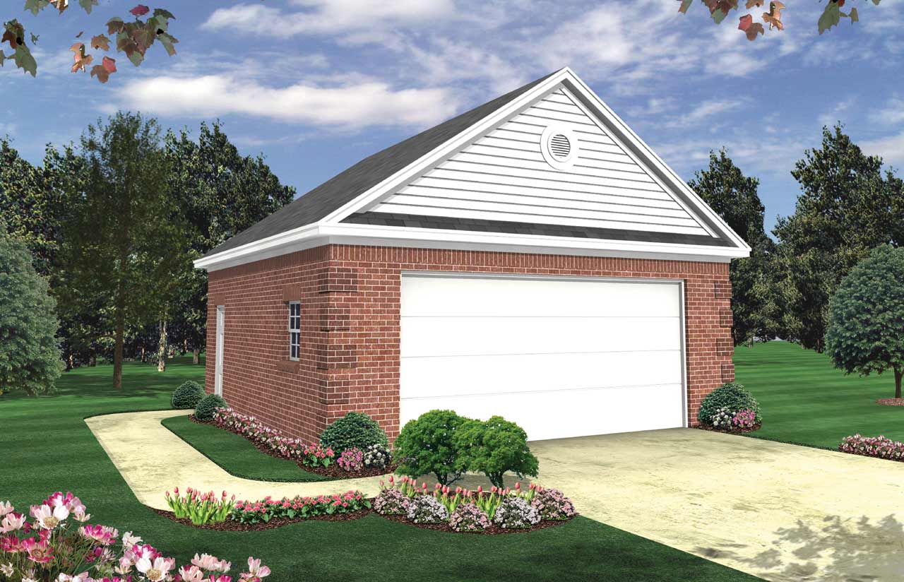 Traditional Style Home Design Plan: 2-102