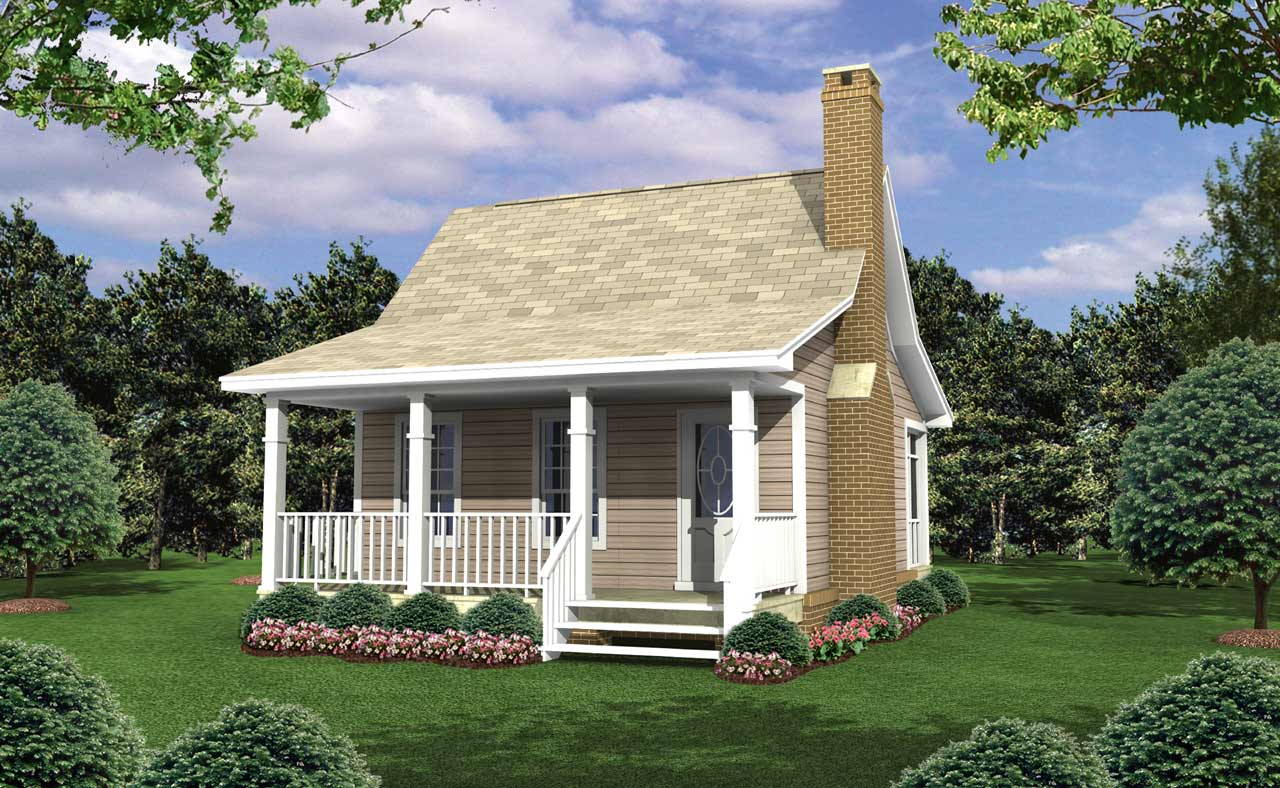 Country Style House Plans Plan: 2-105