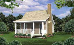 Country Style Home Design 2-105