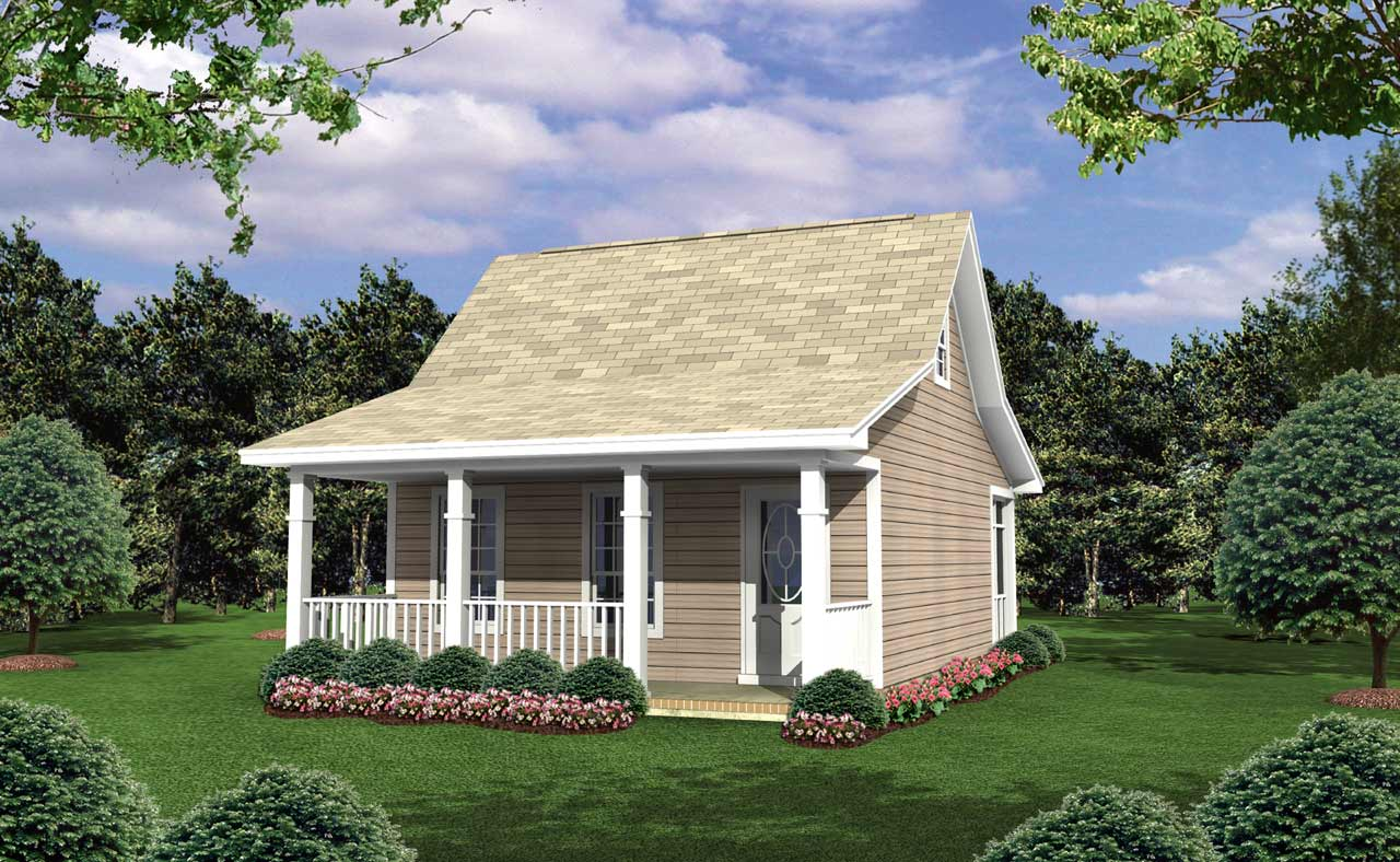 Country Style House Plans Plan: 2-106