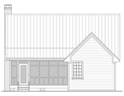 Rear Elevation Plan: 2-113