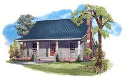 Cottage Style House Plans 2-113