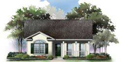 Country Style Home Design 2-115