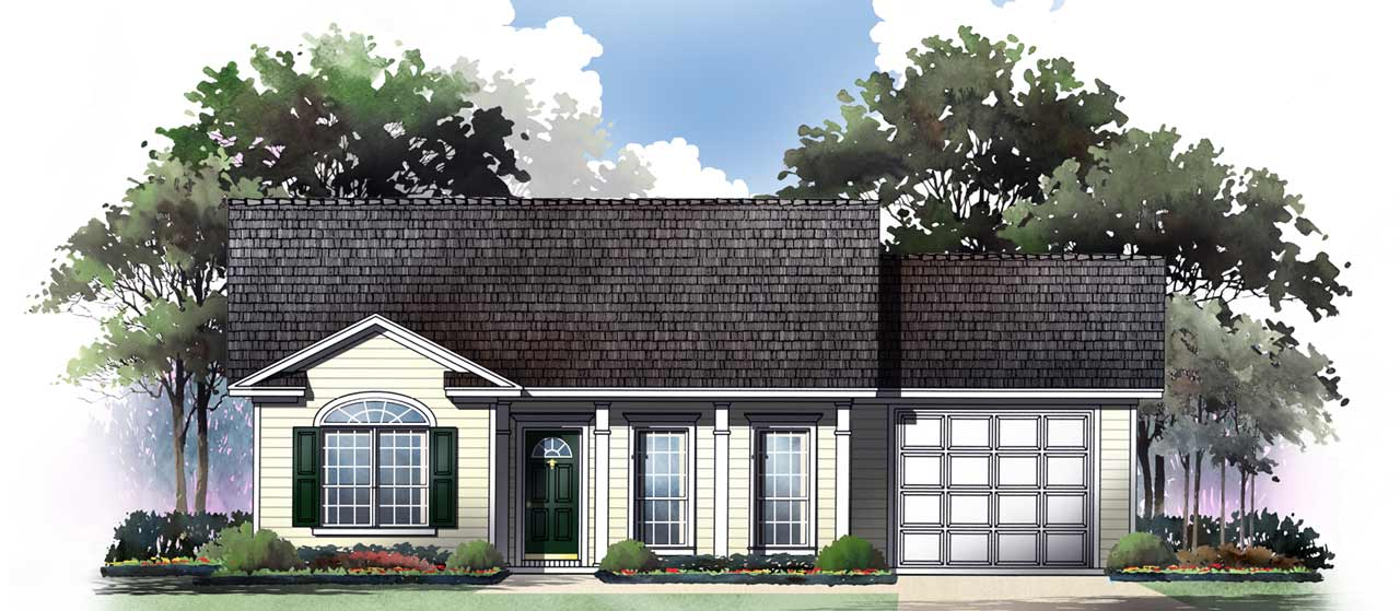 Traditional Style House Plans Plan: 2-116