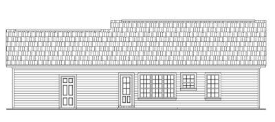 Rear Elevations Plan:2-117