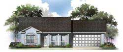 Country Style House Plans 2-117