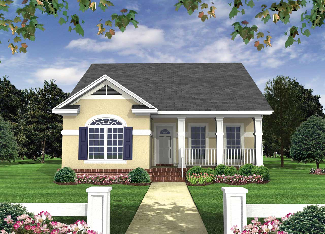 Country Style House Plans Plan: 2-118