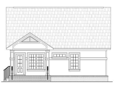 Rear Elevation Plan: 2-118