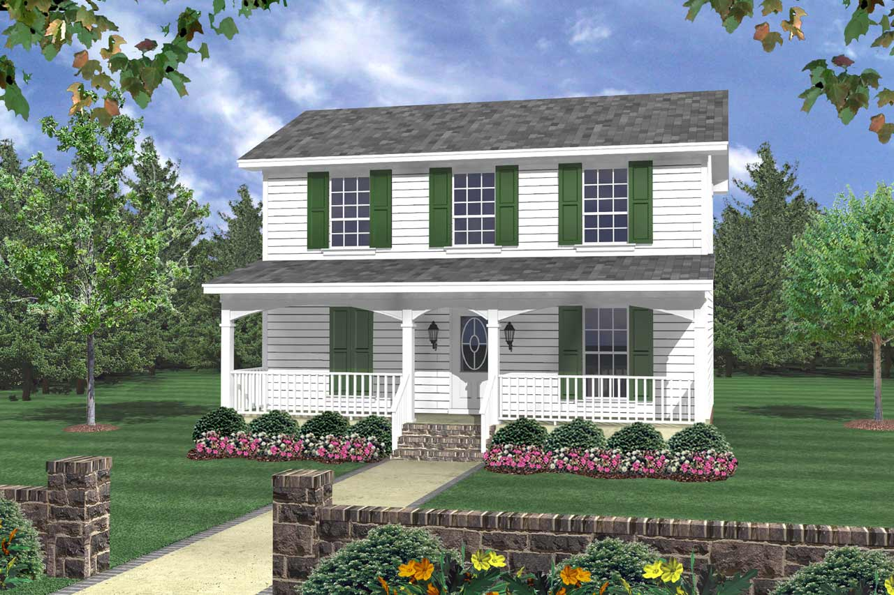 Southern Style Floor Plans Plan: 2-120