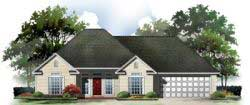 Southern Style Home Design 2-121