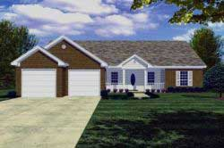 Country Style House Plans 2-127