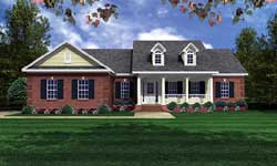 Country Style Floor Plans 2-130