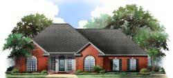 European Style House Plans 2-136