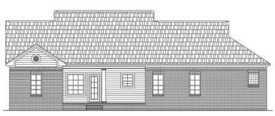 Rear Elevation Plan: 2-138
