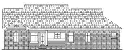 Rear Elevation Plan: 2-139