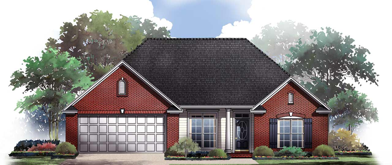 Traditional Style Floor Plans Plan: 2-149