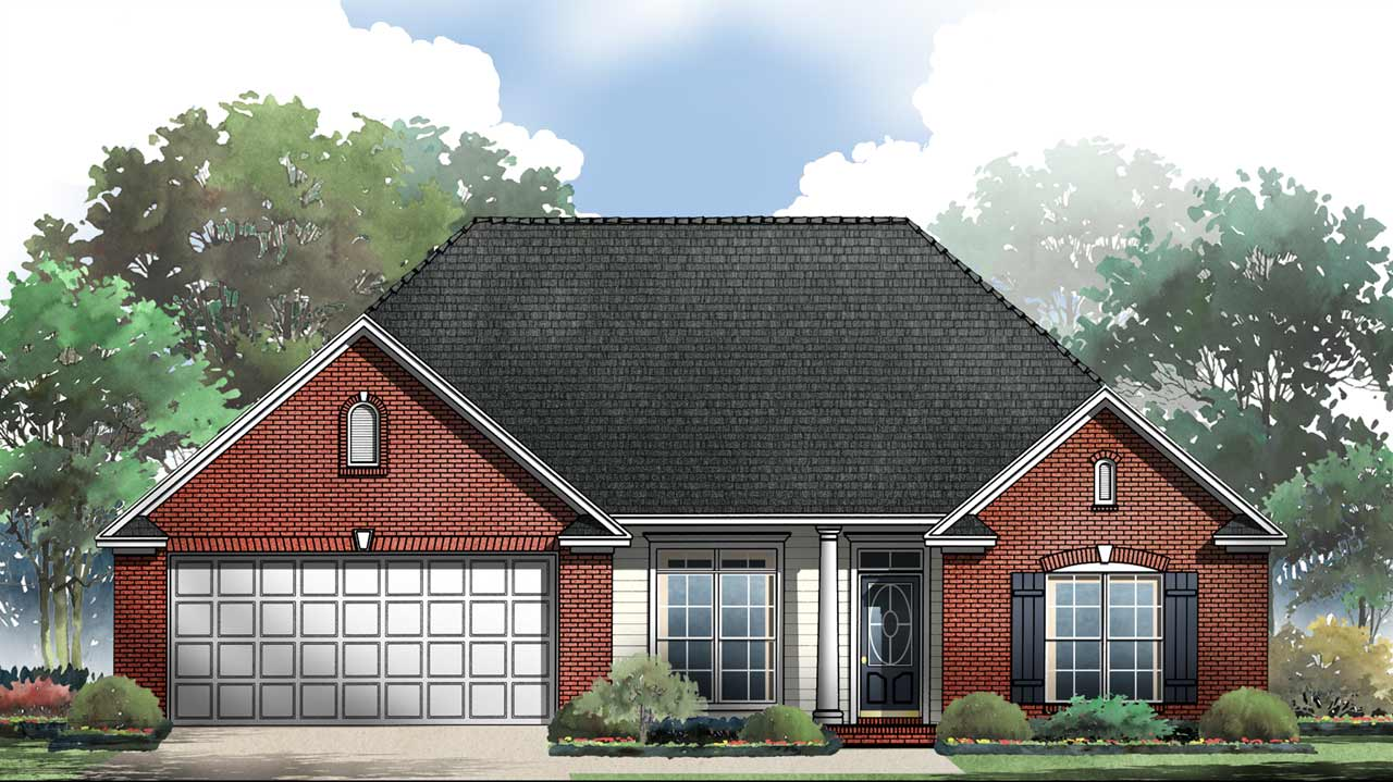 Traditional Style House Plans Plan: 2-152
