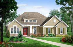 Bungalow Style Home Design 2-157