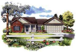 Ranch Style House Plans 2-158