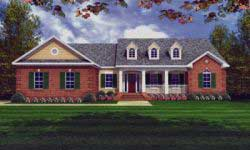 Country Style Home Design 2-160