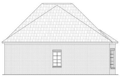 Rear Elevation Plan: 2-161