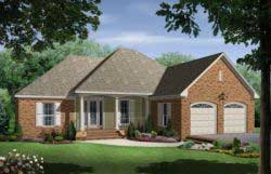 Traditional Style Home Design 2-163