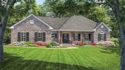 Country Style Floor Plans 2-164