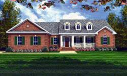 Country Style Home Design 2-165
