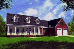 Country Style House Plans 2-167