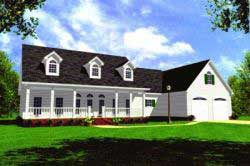 Country Style Floor Plans 2-168