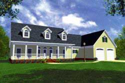 Southern Style Floor Plans Plan: 2-169