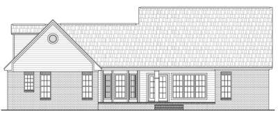 Rear Elevation Plan: 2-172