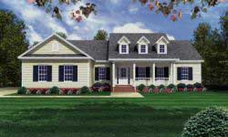 Southern Style Floor Plans Plan: 2-175