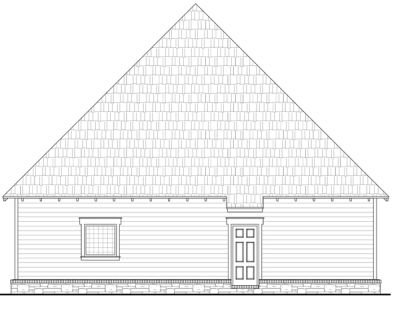 Rear Elevation Plan: 2-179