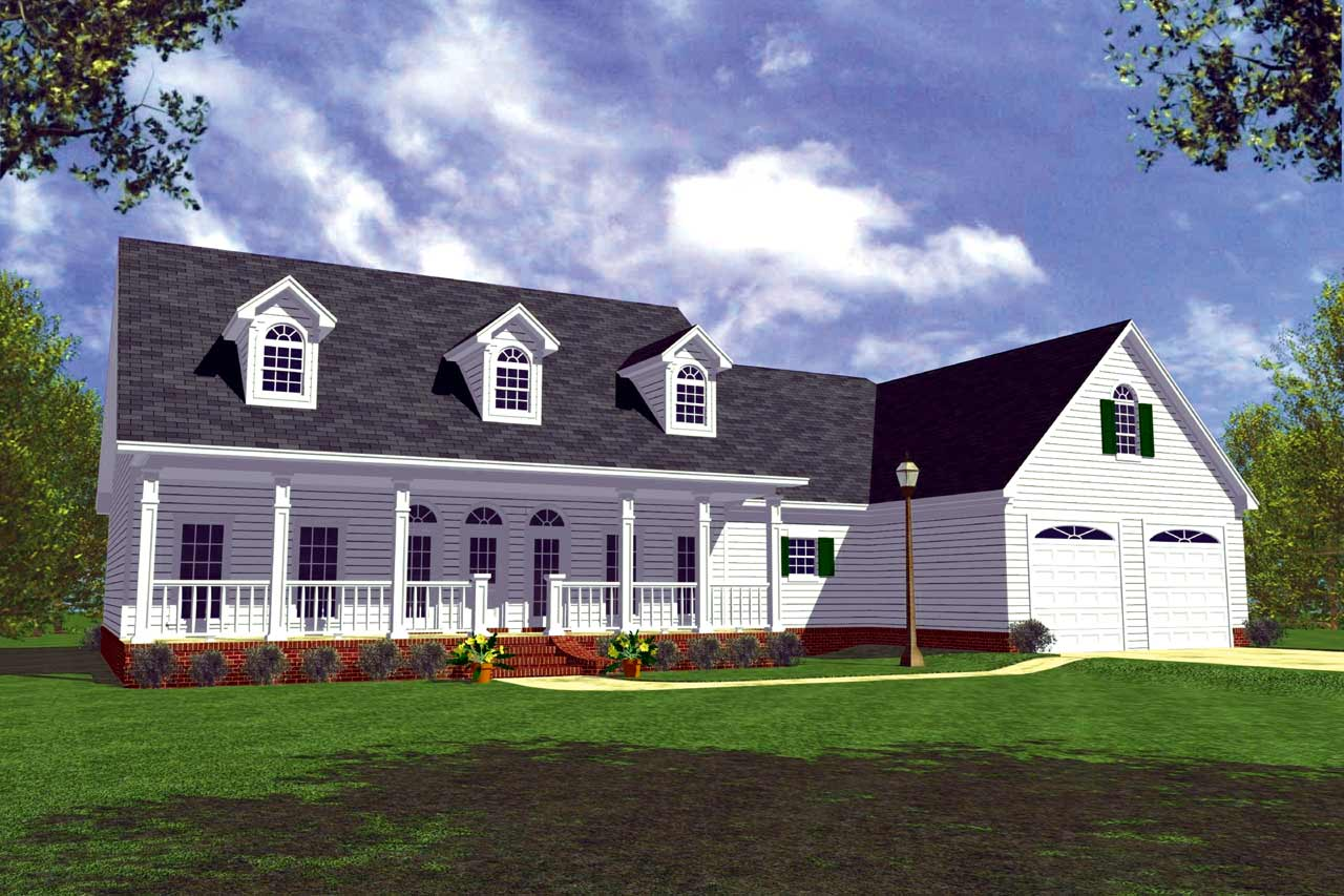 Southern Style Floor Plans Plan: 2-182