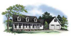 Country Style House Plans 2-182