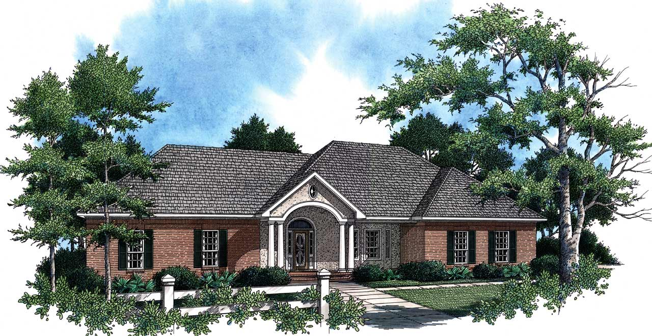 Southern Style House Plans Plan: 2-188