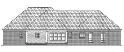 Rear Elevation Plan: 2-188