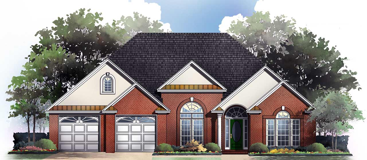 Traditional Style Floor Plans Plan: 2-190