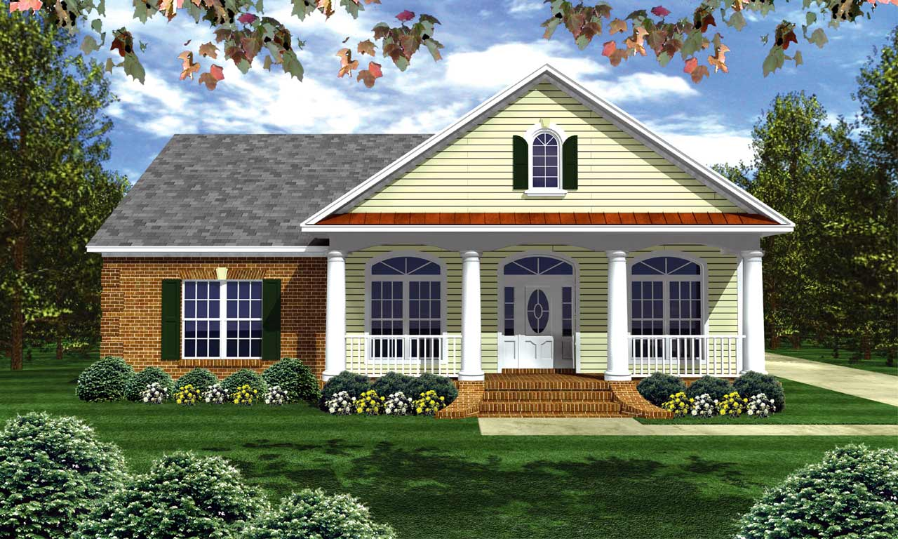 Southern Style House Plans Plan: 2-202