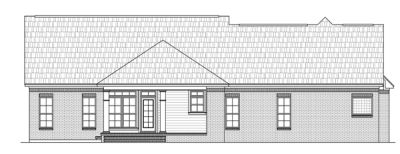 Rear Elevation Plan: 2-203