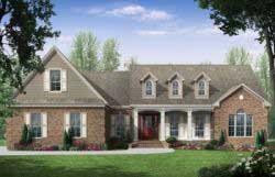 Country Style House Plans Plan: 2-203