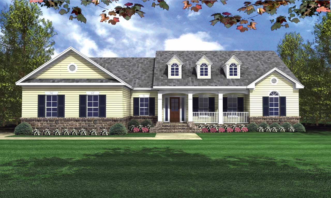 Southern Style Floor Plans Plan: 2-206